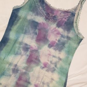Mossimo Supply Co Hand Dyed Tank Top Large